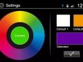 Variabilní barva podsvícení