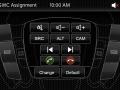 Připojení k dálkovému ovládání na volantu