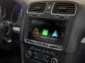 Integrace přístroje ve VW Golf