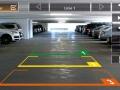 Obraz parkovací kamery s volitelnými liniemi vzdálenosti
