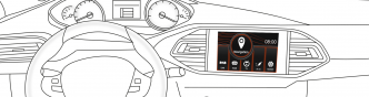 Adaptiv – Navi / multimédia adaptér pro Peugeot / Citroen
