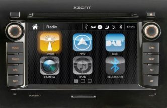 XZENT X-F220 – Navigace pro Fiat, Citroen a Peugeot