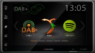 Z-N328 2-DIN SMARTLINK DAB+ INFOTAINER