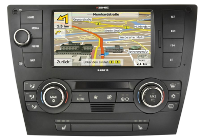 ZENEC Z-E3215 MkII – Navigace pro BMW