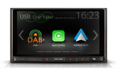 Z-N528 2-DIN INFOTAINER S APPLE CARPLAY A GOOGLE ANDROID AUTO™