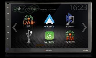 Z-N966 2-DIN 9″ INFOTAINER