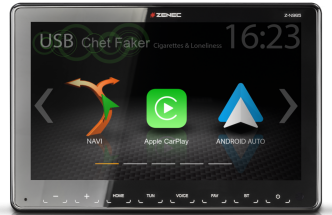 Z-N965 1-DIN 9″ INFOTAINER