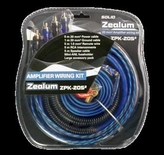 Signálové a napájecí kabely